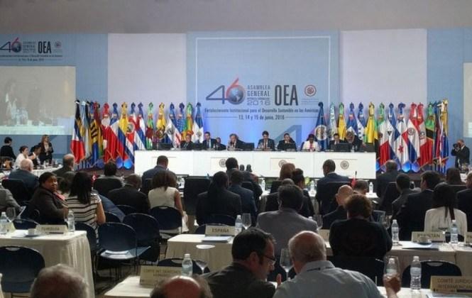 """Silala: Canciller chileno dice ante la OEA que """"ríos internacionales nacen en manantiales"""""""