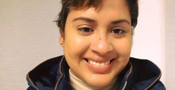 Hace dos días, Gabriela Justiniano decidió cortarse el cabello.