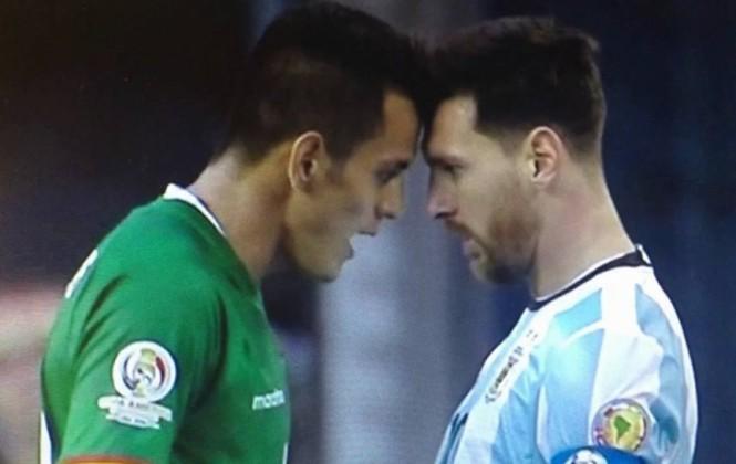 """Jhasmani Campos: """"Messi ingresó con intención de sobrarnos"""""""