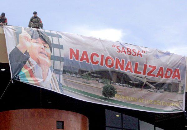 INVERSIÓN EXTRANJERA BAJÓ EN BOLIVIA EN LOS ÚLTIMOS AÑOS.