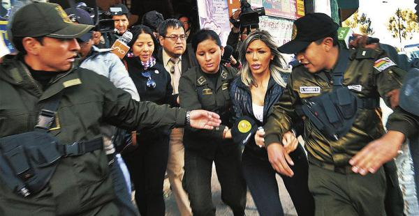 Ayer se suspendió la audiencia en la que se tenía que abrir la caja fuerte de Gabriela Zapata