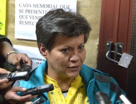 """PILAR GUZMÁN, """"TÍA"""" DE GABRIELA ZAPATA, SOLICITÓ AMPLIAR SUS DECLARACIONES DENTRO DEL CASO DE TRATA DE PERSONAS QUE SE ABRIÓ EN RELACIÓN A LA SUPLANTACIÓN DEL HIJO QUE EL PRESIDENTE EVO MORALES."""