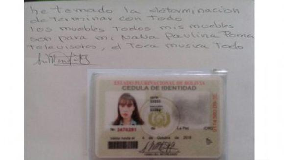 Caso Zapata: Ana María Fortún, hermana menor de Ximena Fortún se suicida