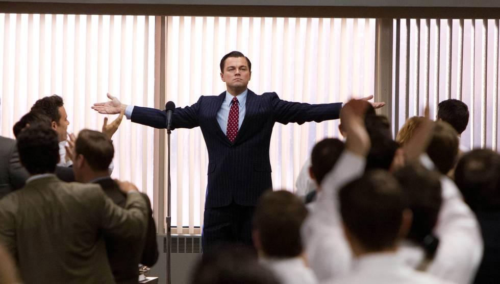 Leonardo DiCaprio en una de las escenas de
