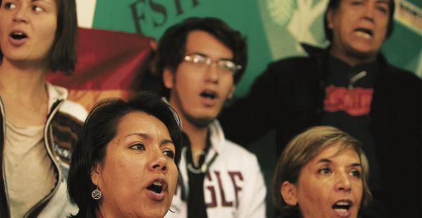 Un grupo de mujeres activistas cuestiona la marcha de mañana