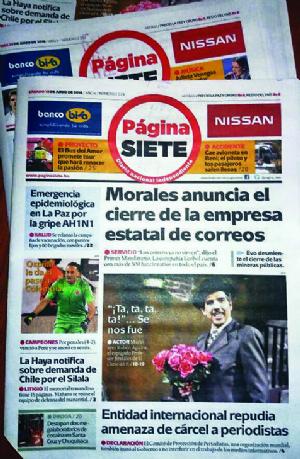 """García Linera a Página Siete: """"Sé hasta cómo respiran"""""""