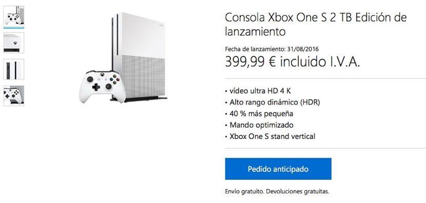 reservar-xbox-one-s