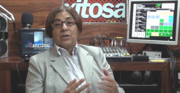 Amalia Pando dice haber recibido tres requerimientos de las autoridades, hasta ahora.