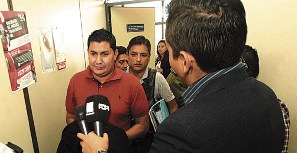 Paúl Cuéllar Bejarano se marchó rápidamente y sin decir una palabra sobre el caso