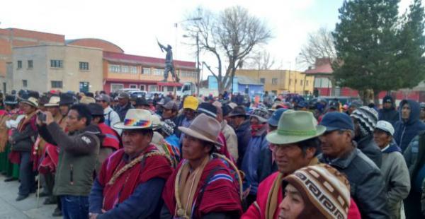 Los pobladores beneficiados destacaron el trabajo del INRA