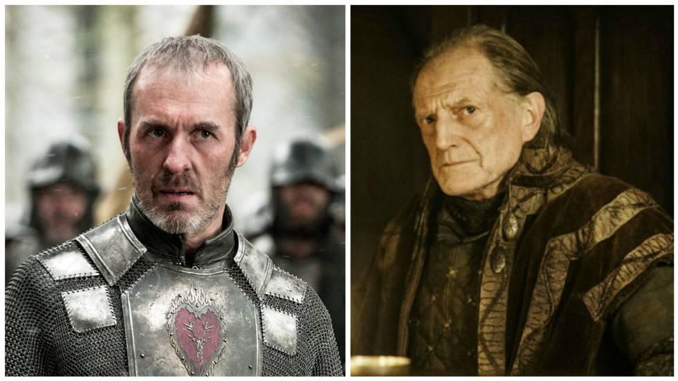 Stannis Baratheon y Walder Frey.