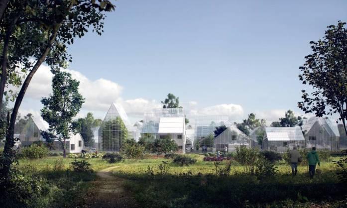 Imagen generada por ordenador de ReGen Villages.