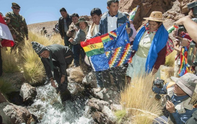 Bolivia incorporará a expertos internacionales al equipo del Silala