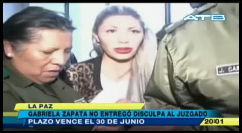 Zapata deberá enviar disculpa pública hasta el juzgado para aclarar las acusaciones