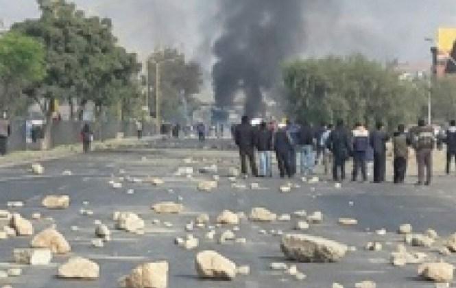 Paro de la COB deja policías y fabriles heridos y al menos 150 detenidos en tres días de protestas