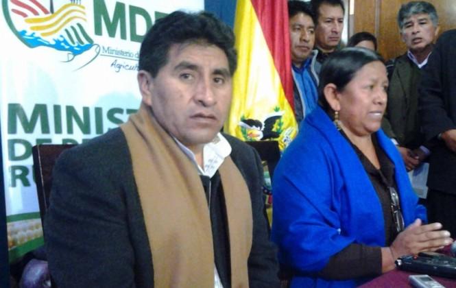 Achacollo dice estar esperando que la Fiscalía la convoque por el caso del Fondo Indígena