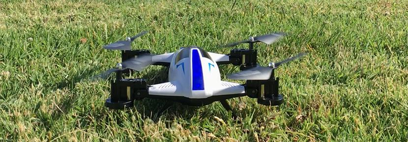 Coche drone transformer