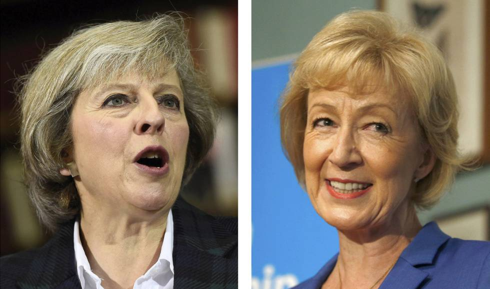 Theresa May y Andrea Leadsom, se disputarán la sucesión de Camero.