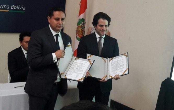 YPFB firma contrato de venta de GNL con empresa peruana para exportar hasta 200 TM día