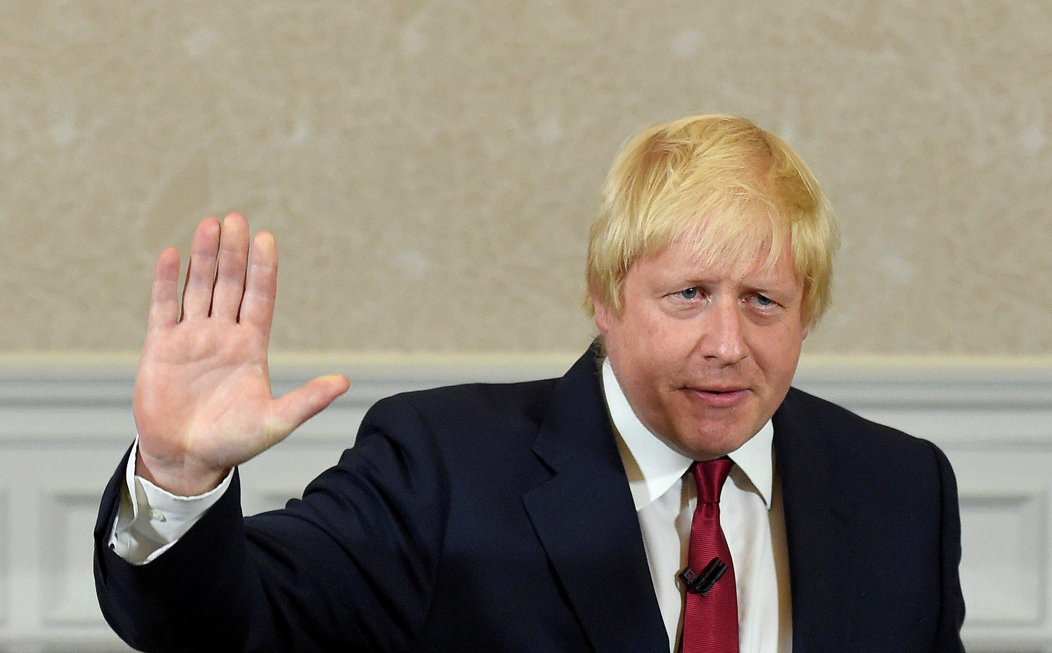 El líder de la campaña para que Reino Unido deje la Unión Europea, Boris Johnson, ofrece un discurso en Londres. 30 de junio de 2016. Foto: REUTERS/Toby Melville/