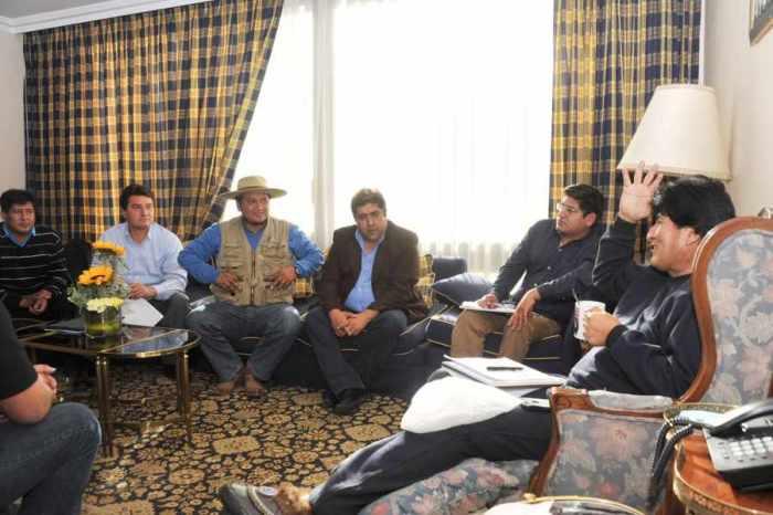 Morales descarta el Plan de Rescate  Financiero de Tarija
