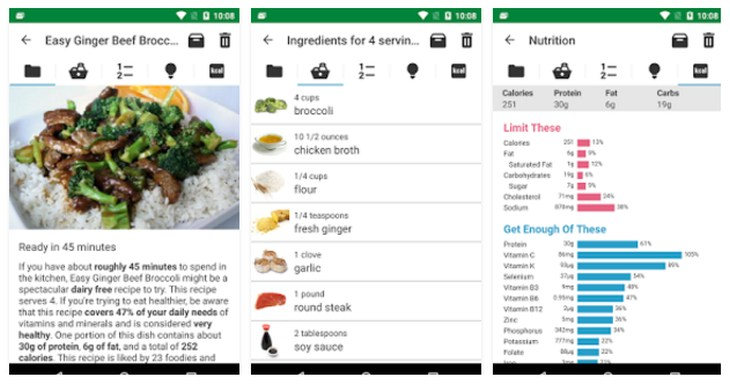 Imagen: Meal Planner and Food Manager