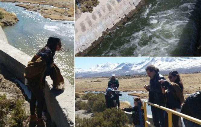"""Delegación boliviana en Chile constata el desvío """"unilateral"""" del río Lauca"""