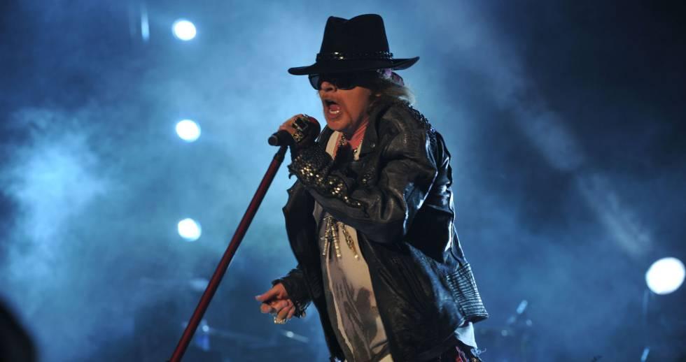 Axl Rose, líder de Guns N' Roses.