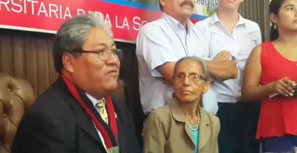 La gestión del rector interino José Ortubé culmina el 25 de julio