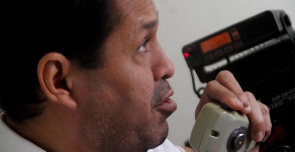 Jorge Ponce ama su trabajo, desde hace 18 años ha recorrido varias empresas de radiotaxis
