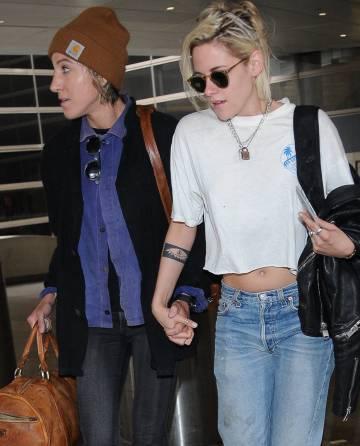 Kristen Stewart y Alicia Cargile, en Los Ángeles.