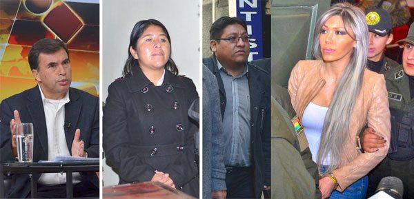 Ministro de la Presidencia, Juan Ramón Quintana, absuelto; mientras que Cristina Choque, Jimmy Morales y Gabriela Zapata son acusados de enriquecimiento ilícito.