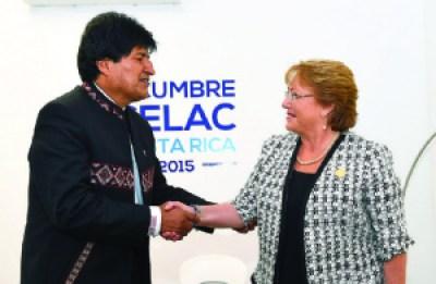 Evo responde a Muñoz: No hay acuerdo de cooperación de gobierno a gobierno con Chile