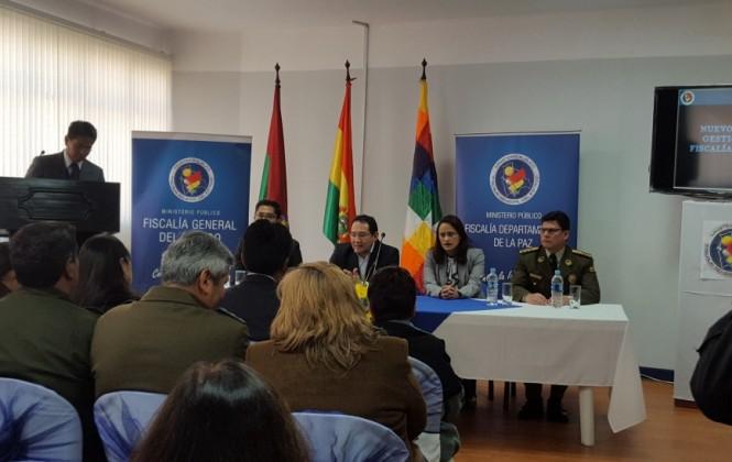Inauguran nuevo modelo de gestión fiscal y fiscalía corporativa en La Paz