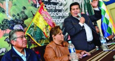 Nuevo Fondioc dará hasta Bs 7 millones a cada municipio