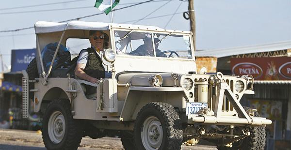 Los 'willyseros' recorrerán 1.200 km en la Chiquitania