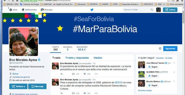 Los mensajes sobre Chile, ya sea criticando o pidiendo diálogo, abundaron este mes