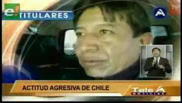 Titulares de TV: Canciller constató atropellos a bolivianos en Arica