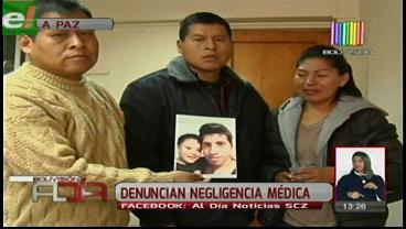 La Paz. Denuncian presunta negligencia y maltrato en el Hospital de Clínicas