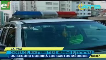 Otorgan medidas sustitutivas a policía que atropelló a dos mujeres