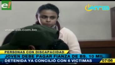 Cochabamba. Juez da detención domiciliaria a joven que atropelló a las personas con discapacidad