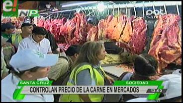 Controlan el precio de la carne en los mercados