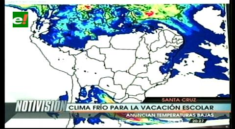 Santa Cruz: Desde mañana vuelven las lluvias y el descenso de temperaturas