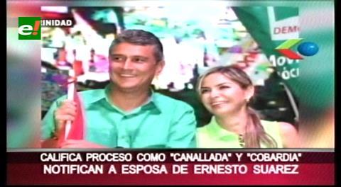 Citan a declarar a la esposa del ex gobernador Ernesto Suárez por causa de ganancias ilícitas