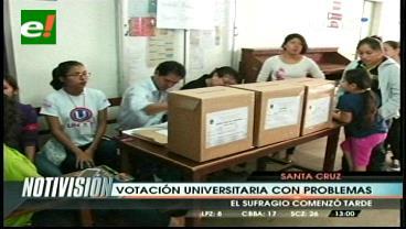 Analizan una posible suspensión de las elecciones en la 'U'