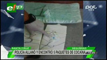 Detienen a paraguayo en posesión de cocaína
