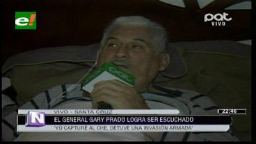 """General Prado: """"quiero curarme y seguir con el juicio hasta que reconozcan mi inocencia"""""""