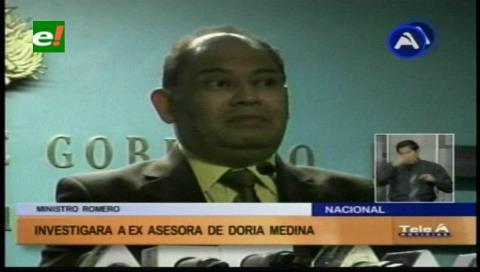 Gobierno investigará viajes de Cynthia Perou a la capital peruana