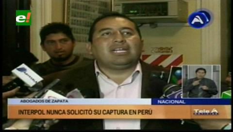 Zuleta y Sánchez no figuran en lista de buscados por Interpol