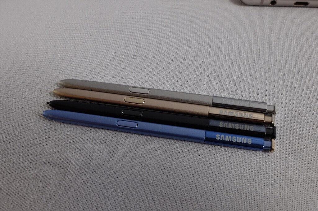 S Pen Samsung Galaxy Note 7 todos los colores